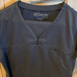 Greys anatomy charcoal grey scrubs medium